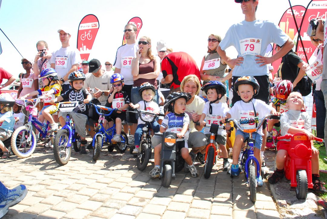 Pick n Pay 94.7 Children's Cycle Challenge 1999 – 2008