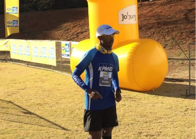 15km first place - Sheldon George 2